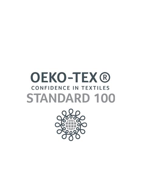 certificato OEKO-TEX CONFIDENCE IN TEXTILES STANDARD 100