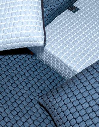 Dettaglio NUVOPlus e Pillowave blu polvere con NUVOTECH