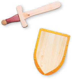 Spada e scudo